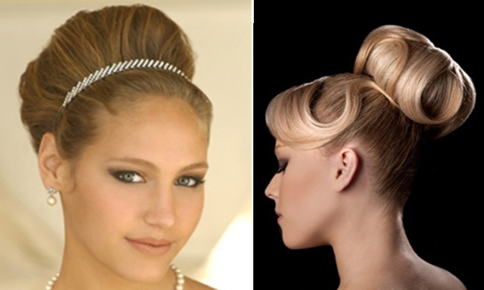 Structured Wedding Updos - SalonAddict.co.uk