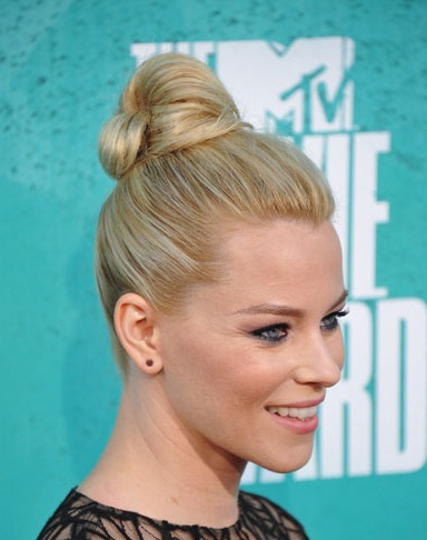 Elizabeth Banks Ballerina Bun - SalonAddict.co.uk
