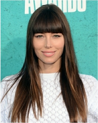Jessica Biel Straight - SalonAddict.co.uk
