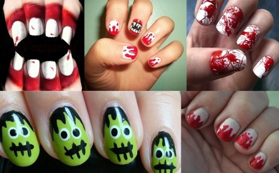 Zombie Inspired Manicures | Halloween Nail Art | SalonAddict.co.uk