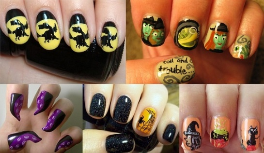 Witch Inspired Manicures | Halloween Nail Art | SalonAddict.co.uk
