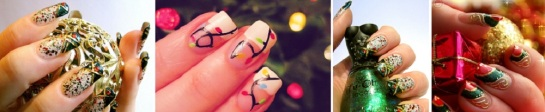Christmas Decoration Nails | Chrismas Manicures | SalonAddict.co.uk