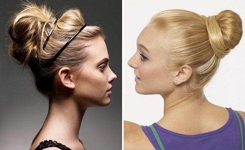 Bun Hairstyles | Workout Hairstyles 2013 | SalonAddict.co.uk