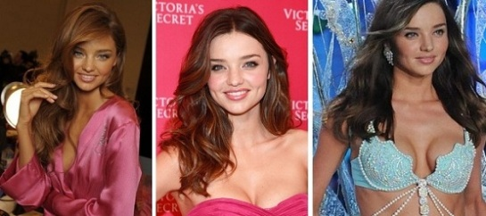 Celebrity Hairstyles – Victoria Secret Angels | Miranda Kerr | SalonAddict.co.uk