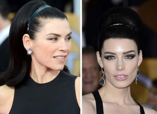 Jessica Pare | Julianna Margulies Hairstyles 2012 - The SAG Awards | SalonAddict.co.uk