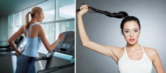 Workout Hairstyles 2013 | Pontails | SalonAddict.co.uk