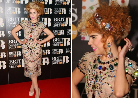 Paloma Faith | Celebrity Hairstyles 2013 - The Brit Awards | SalonAddict.co.uk