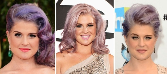Kelly Osbourne | Bold & Bright Hairstyles | SalonAddict.co.uk