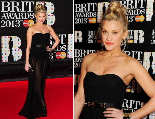 Ashley Roberts | Celebrity Hairstyles 2013 - The Brit Awards | SalonAddict.co.uk