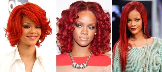 Rihanna | Bold & Bright Hairstyles | SalonAddict.co.uk