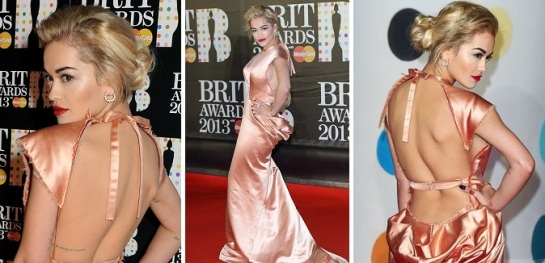 Rita Ora | Celebrity Hairstyles 2013 - The Brit Awards | SalonAddict.co.uk
