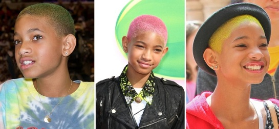 Willow Smith | Bold & Bright Hairstyles | SalonAddict.co.uk