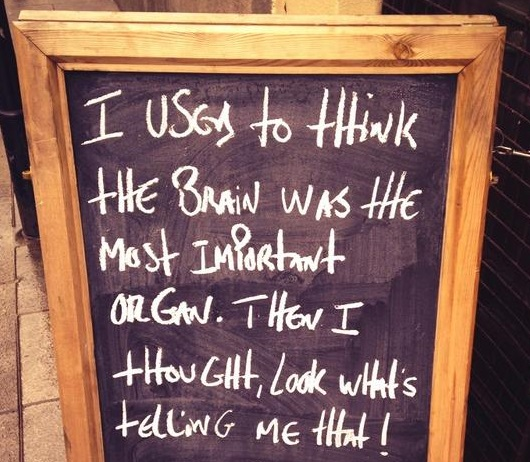Wise Sandwich Board